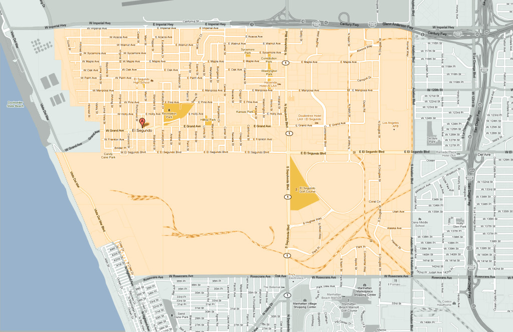 El-Segundo Real Estate Map
