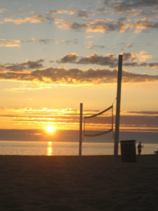 Volleyball-Sunset